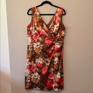 Floral printed dress from Nordstrom.
